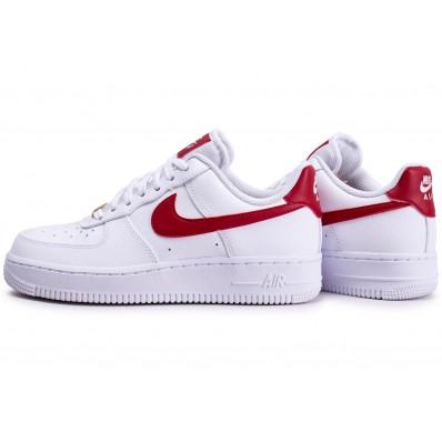 nike air force 1 femme rouge et blanche