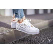 nike air force 1 blanche et beige